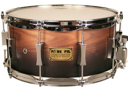 USA Custom Snare=7×14-P'Lux Red Oak