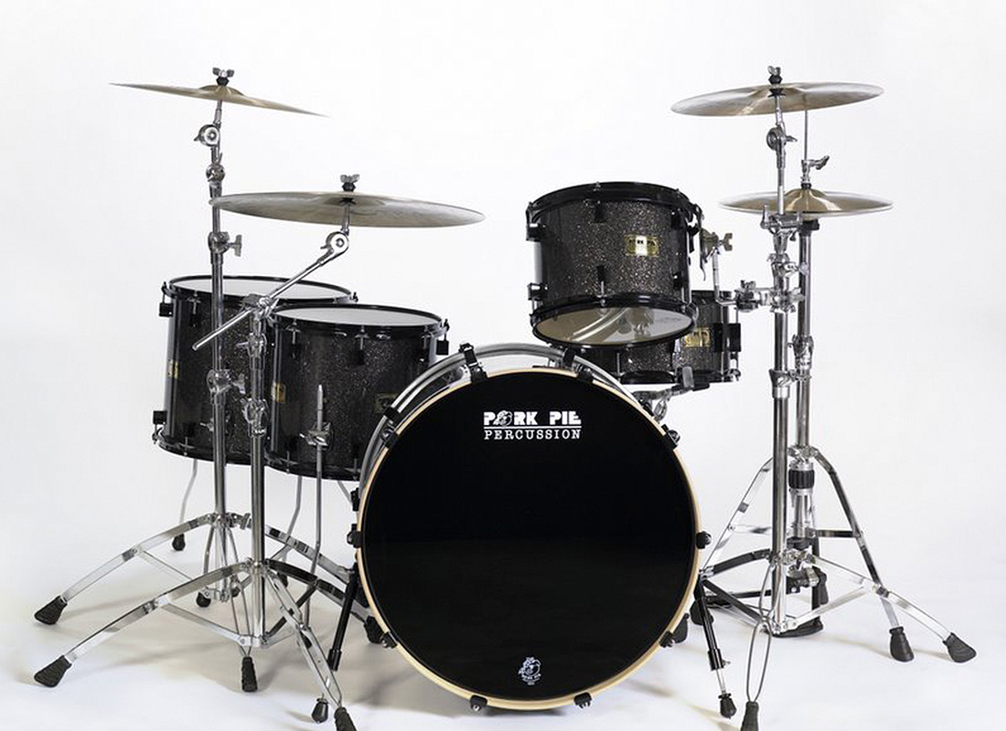 Pork Pie USA Custom Kit: Black Glass