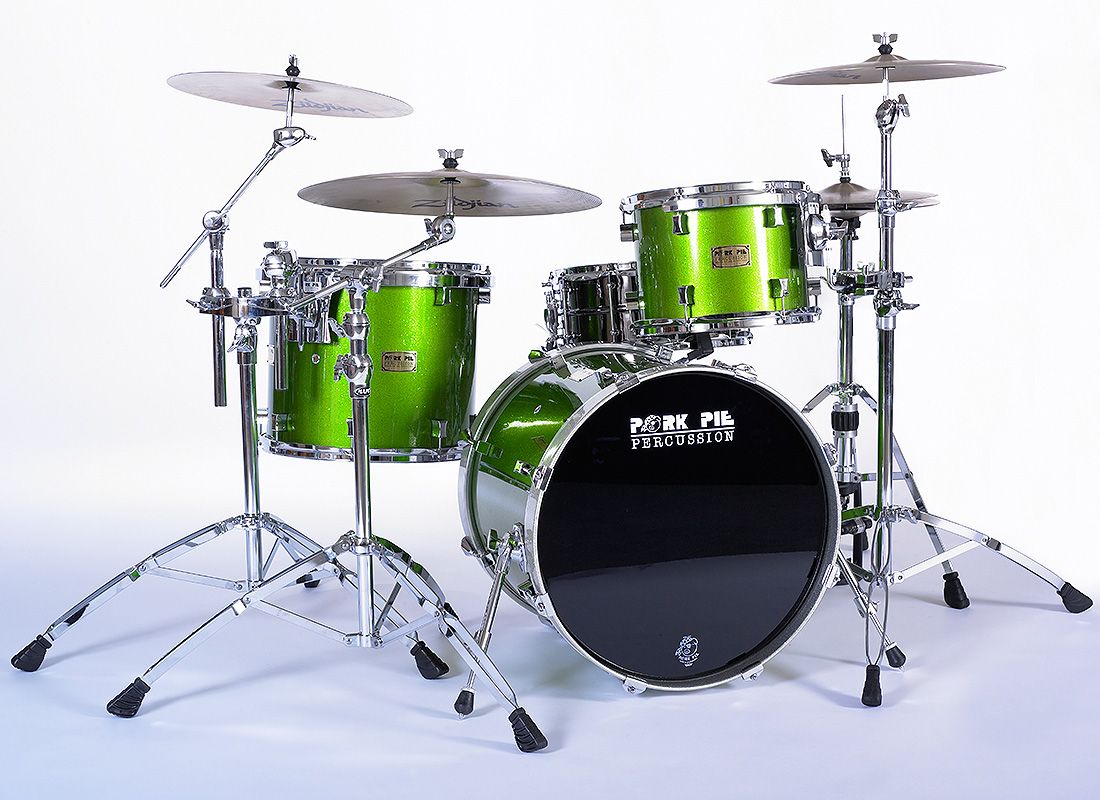 Pork Pie USA Custom Kit: Dom's Green Sparkle