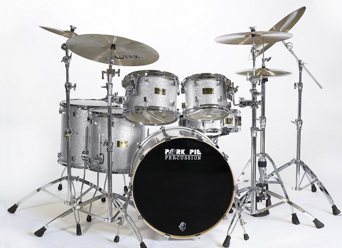 Pork Pie USA Custom Kit: Silver Sparkle Wrap
