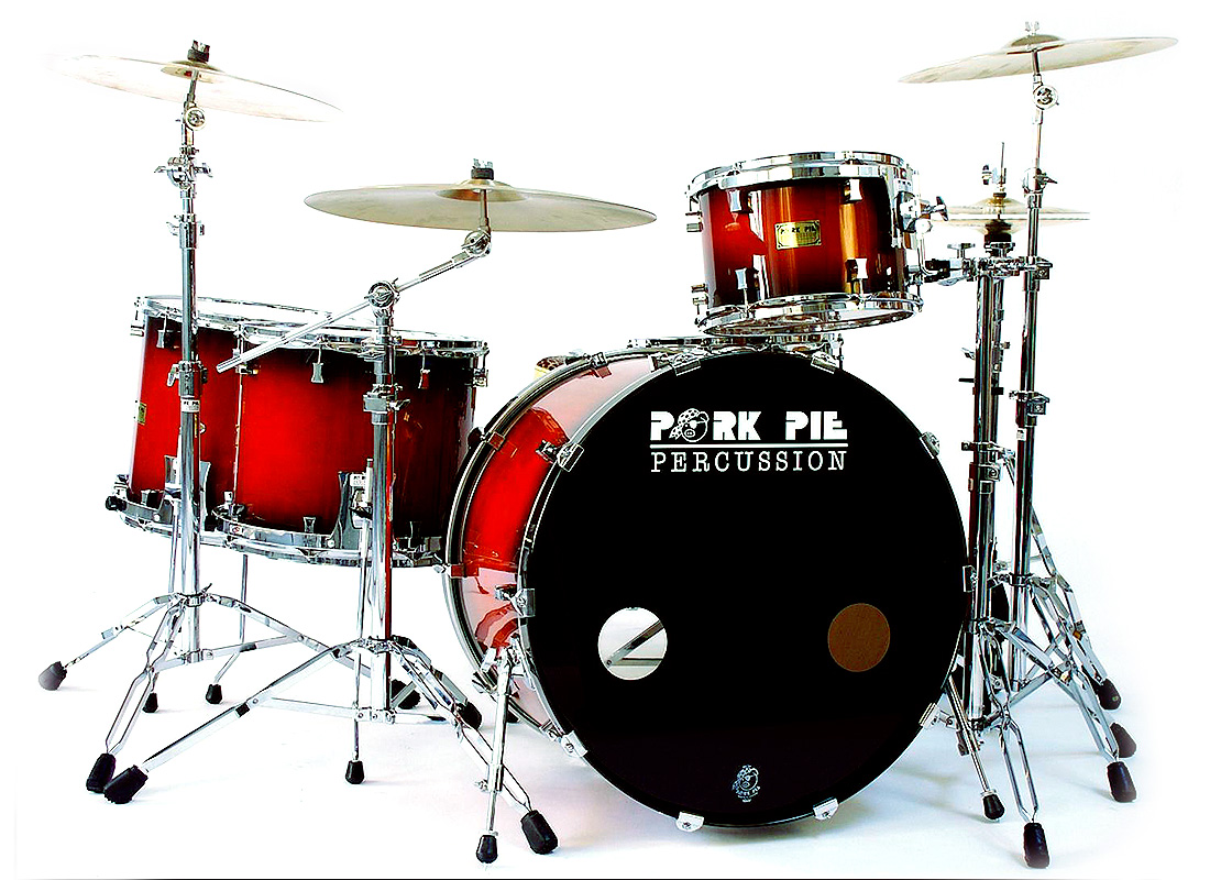 Pork Pie USA Custom Kit: Red Burst Hi Gloss