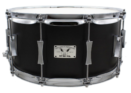 "Pork Pie Little Squealer Snare: 7""x14"" Birch Mahogany"
