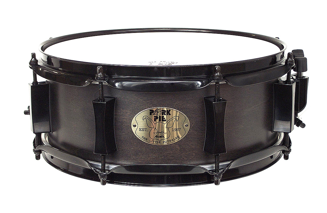 "Pork Pie Little Squealer Snare: 5""x12"" ""Little Squealer"" with Black Hardware"