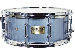 USA Custom Snare: Porcaro Blue Hi-Gloss Snare