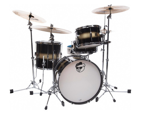 "Pork Pie ""Hip Pig"" Kit: 3 Piece Mahogany Jazz"