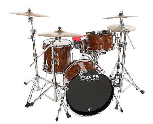 Pork Pie USA Custom Kit: Quilted Sapele