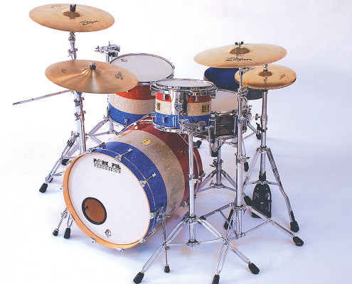 Pork Pie USA Custom Kit: Red, White and Blue Sparkle Wrap