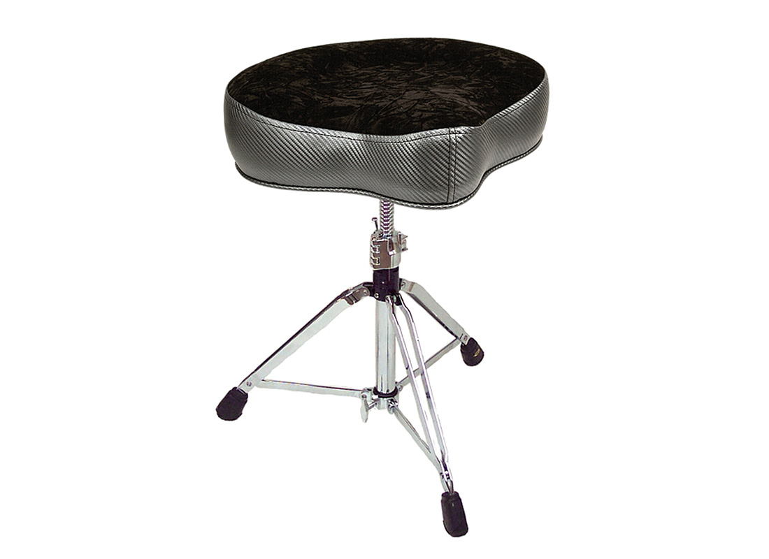 Pork Pie Drum Thrones: Big Boy Carbon Fiber Charcoal Black Crush