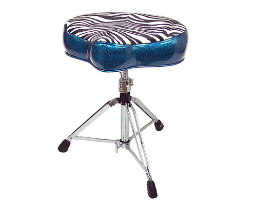 Pork Pie Drum Thrones: Big Boy Peacock Zebra