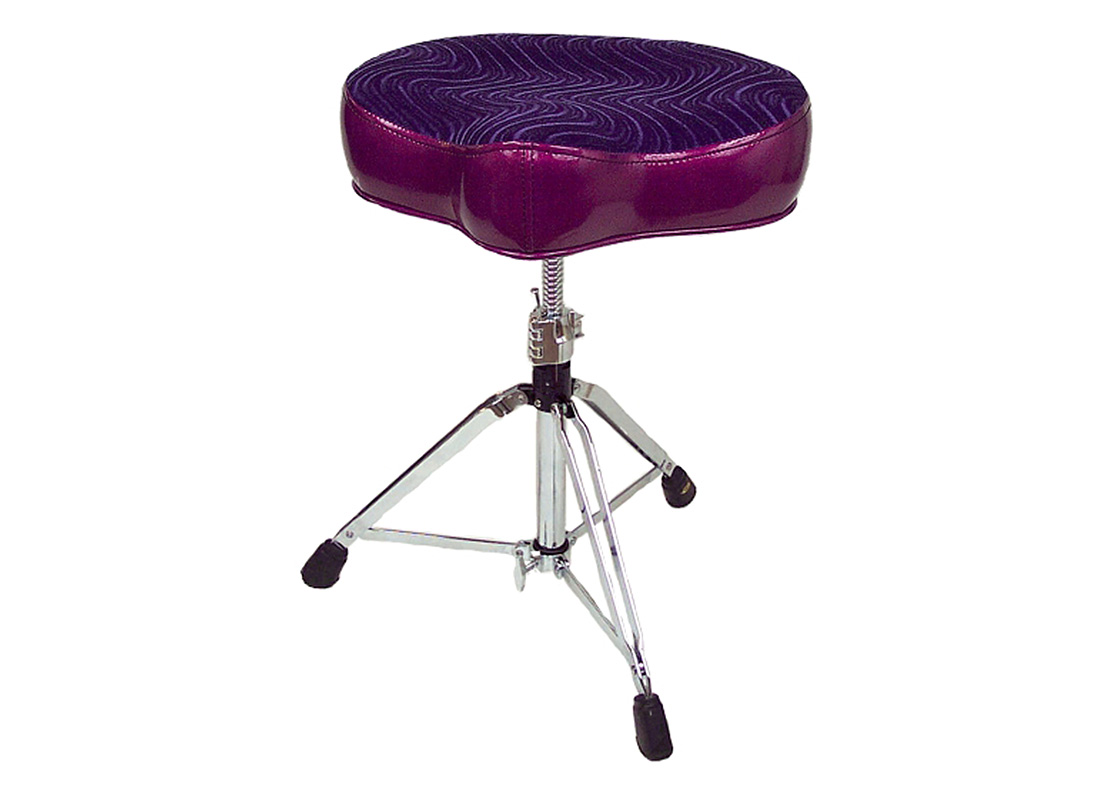 Pork Pie Drum Thrones: Big Boy Purple/Purple Swirl