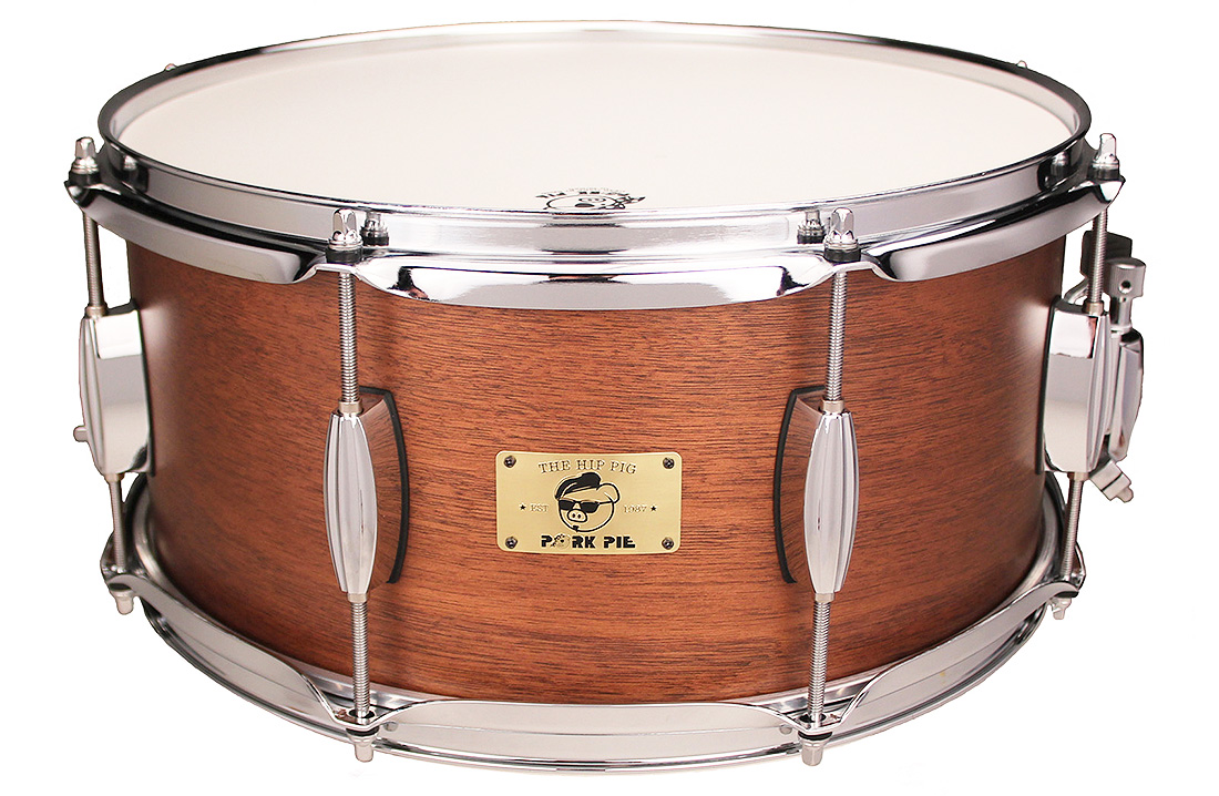 "Pork Pie Hip Pig Snare: 6.5""x14"" Natural"