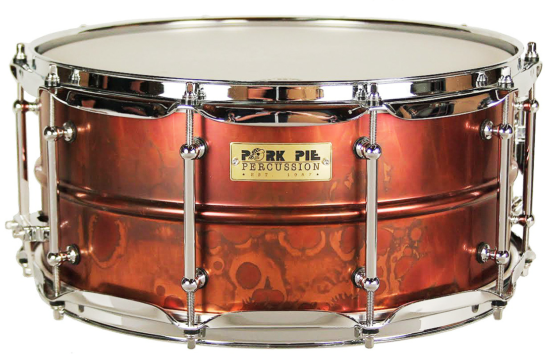 USA Custom Specialty Snare: 6.5x14 Pork Rub