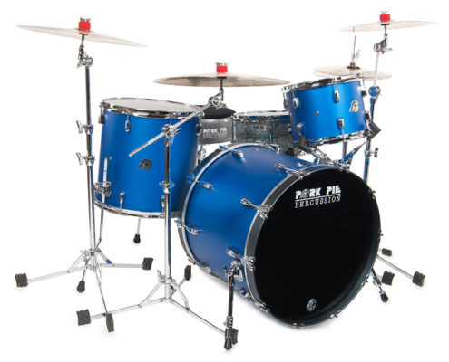 Pork Pie USA Custom Kit: Oriental Blue Flat Metallic