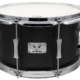"Pork Pie Little Squealer Snare: 7""x12"" Flat Black Lacquer"