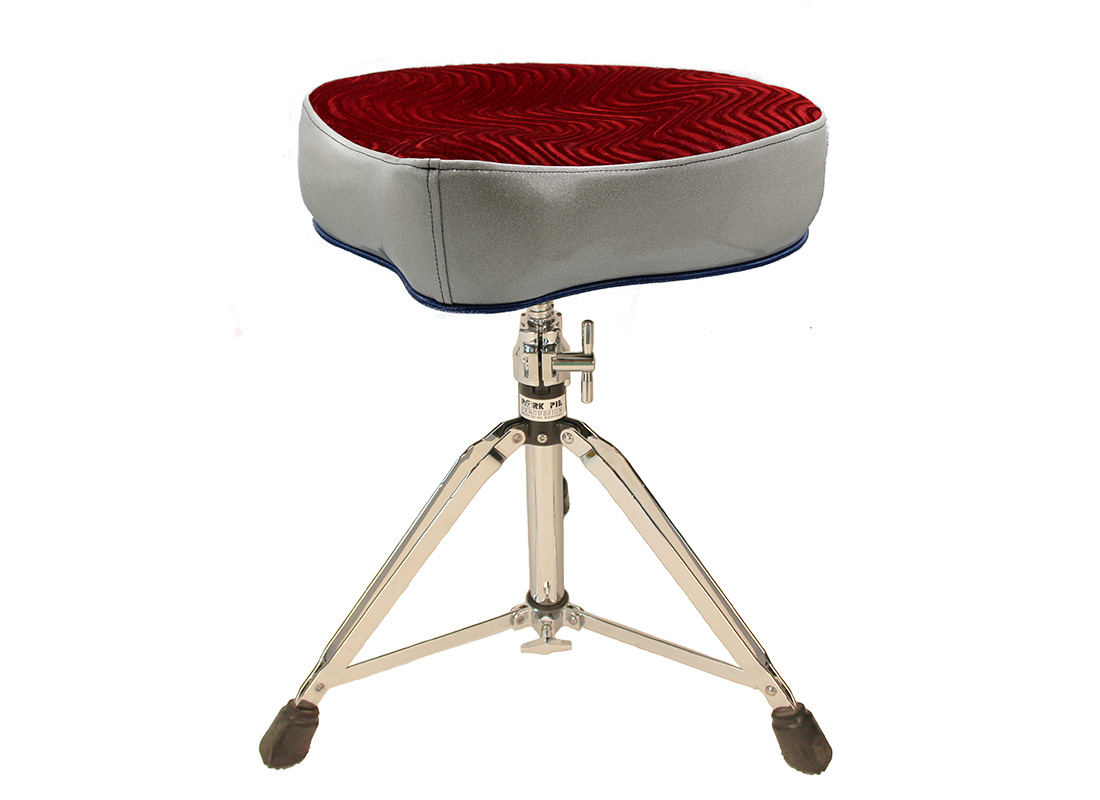 Pork Pie Throne: Big Boy Red Silver and Blue