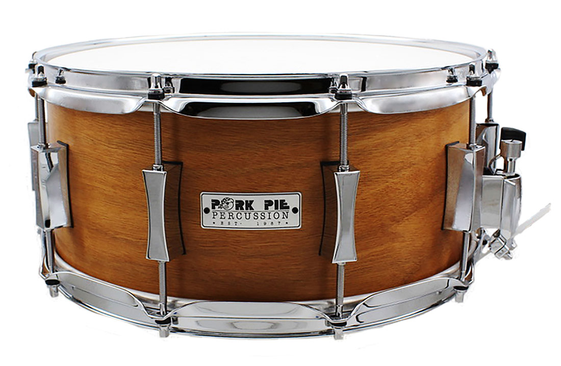 Pork Pie USA Custom Snare: 6.5x14 Cherry Agathis